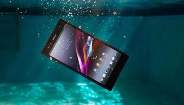 smartphone etanche xperia z2